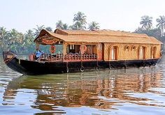 House boat in Kerala, India