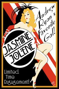 BioShock Jasmine Jolene Poster. #bioshock