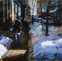 winter shadows - mark lague