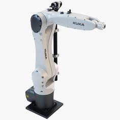 3ds max industrial robotic kuka kr