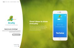 Drafly - website design for free drawing mobile app. What To Draw, New Words, Mobile App, Improve Yourself, Author, Website, Drawings, Free, Inspiration