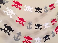 Pirate Party Decorations / 10 ft Pirate by anyoccasionbanners