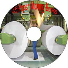 Instructions on Art of How to Make Paper From Old & New Material 45 Books CD