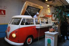 Reason #195: The delicious eats served out of a vintage VW bus on Elizabeth Street at Tacombi NYC. #newyork