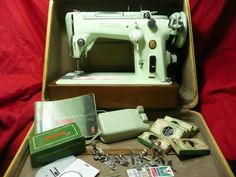 Singer 319W Vintage Sewing Machine Case by yesteryearshome on Etsy