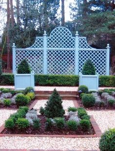 painted Diamond trellis