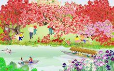 Tatsuo Horiuchi, el artista japonés que pinta espectaculares obras de arte con Excel