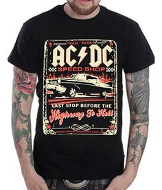 73be570ff18  19.99 - ACDC Highway To Hell (Front   Back) T-Shirt. This