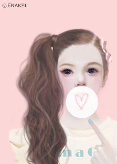 Enakei: Jennie's Portraits by Park Suran 박수란