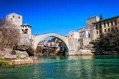 Stari Most Bridge. Mostar, Herzegovina