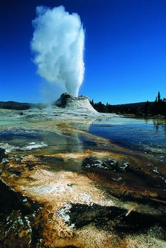 Yellowstone - Castle Geyser