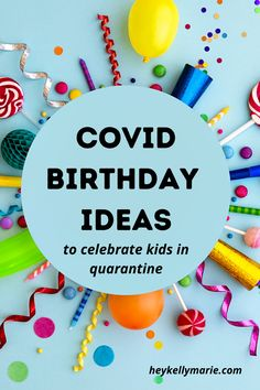 Fun, easy and creative ideas for parents to celebrate their kids' birthdays at home during the pandemic and quarantine. Send Birthday Card, Birthday Morning Surprise, Birthday Surprise For Husband, Birthday Return Gifts, Birthday Wishes For Kids, Birthday Party At Home, Birthday Fun, Birthday Surprises, Birthday Quotes