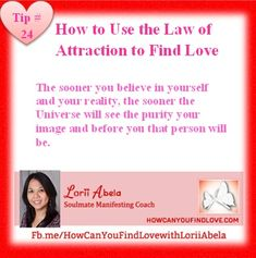 How to Use the Law of Attraction to Find Love Tip #24 #Howcanyoufindlove