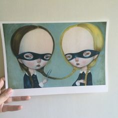 CUT limited edition giclee print 6/40 by Dilkabear on Etsy