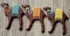 The Royal Icing Queen- Camel Cookies