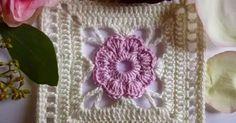 Olá!!!!   Esses quadradinhos são lindos e muito fáceis de fazer...   Você pode usar para confeccionar colchas, toalhas, mantas, etc. e us...