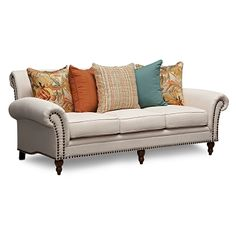 Santa Barbara Upholstery Sofa | Furniture.com $899.99. Simple SofaSofa  FurnitureValue City ...