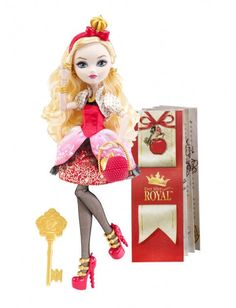 Apple White Ever After High Doll - First Edition Mattel NIB 2013