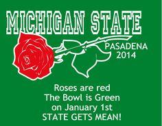 Michigan State Rose Bowl