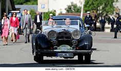 Langenburg, Germany, 28 May 2013. British heir to the throne, Prince Charles (R) and Prince Philipp of Hohenlohe - Stock Image