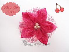 Mini flores de tela | Aprender manualidades es facilisimo.com
