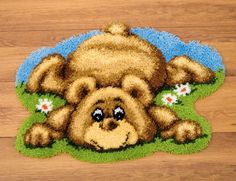 Who could turn down this adorable little baby bear rug?