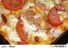 Kynutá pizza recept - TopRecepty.cz