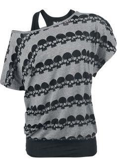 Skull T-Shirt by Black Premium ~ EMP