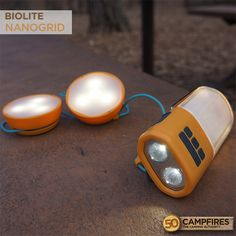 BioLite NanoGrid. A go-anywhere, light-anything system. Perfect for camping.