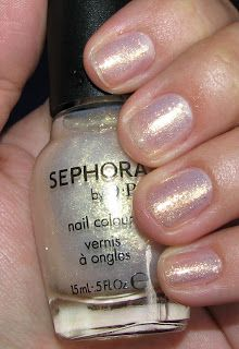 Sephora by OPI WILD ABOUT SHIMMER - $7 swatched on sticker