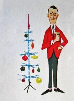 Noel Christmas, Merry Little Christmas, Modern Christmas, Retro Christmas, Christmas Greetings, Father Christmas, Retro Radios, Vintage Christmas Images, Vintage Holiday