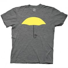 How I Met Your Mother Yellow Umbrella T-Shirt This is a graphic tee I would be willing to work into my wardrobe