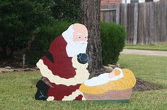 1000 Images About Yard Art On Pinterest Christmas Yard