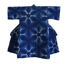 Child's padded kimono done with 'sekka shibori', for sale on srithreads.com August 2013. Beautiful!