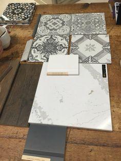 LOVE! Floor tile in entry in matte finish at VT