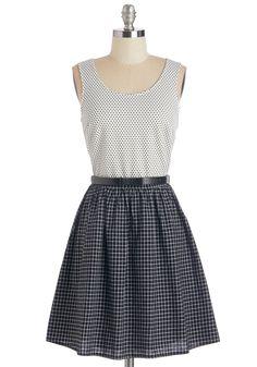 Case of the Checks Dress $59.99