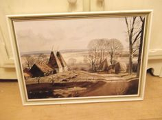 Early Morning Shadows - Rowland Hilder Original Boots Print Early Morning, Shadows, Mid Century, The Originals, Retro, Boots, Prints, Painting, Art