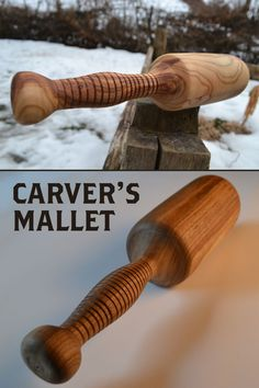 Great tool if you like carving wood and you need a light mallet.