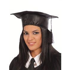 Birrete Graduado Raso, perfecto para tu fiesta de graduación. Entra en nuestra