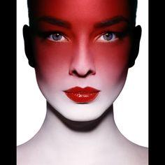 Makeup: Ellis Faas. Photo: Guido Mocafico for V Magazine