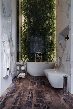 Bathroom Window Treatments, Bathroom Windows, Bathroom With Window, Dream Bathrooms, Beautiful Bathrooms, Luxury Bathrooms, Hotel Bathrooms, Rustic Modern Bathrooms, Modern Luxury Bathroom