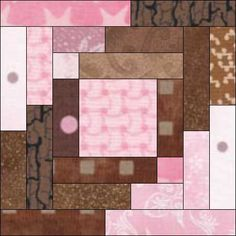 ❤ =^..^= ❤   Please help! Searching for a Log cabin block - Page 2 dunster: I was busy with EQ while MTS was posting. Same result - I got one of the sashing strips turned the wrong way.