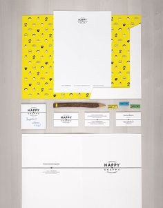 HappySnappy Identity by Elena Novikova, via Behance