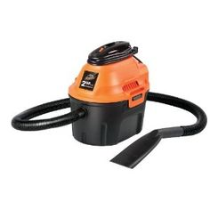 Armor All Gallon, 2 Peak HP, Utility Wet/Dry Vacuum, Picks up wet and dry debris gallon storage tank and 2 horsepower motor Includes hose and cord. Cannot plug into the car Auto shut-off prevents overflow x x Portable Vacuum, Car Vacuum, Best Vacuum, Portable Garage, Wet Dry Vacuum Cleaner, Vacuum Cleaners, Hose Storage, Armor All, Power Hand Tools