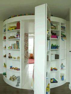 Secret room! childhood dream!