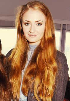 Sophie Turner I always wanted red hair