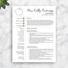 Professional Resumes Templates Modern Resume Template  Cv Template  Cover Letter  Professional