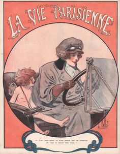 Louis Vallet. La Vie Parisienne, Mai 1919. [Pinned 22-i-2015]