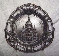Vintage ASHTRAY Sacre Coeur France Paris Polyor