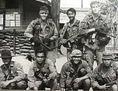List of Vietnam Green Berets | In Vietnam, these special forces had their fire bases, which were ...